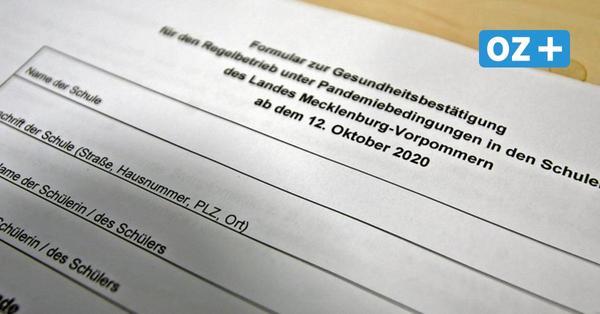 Grevesmühlener Mutter unterschreibt Corona-Zettel nicht: Schüler bleibt in Quarantäne