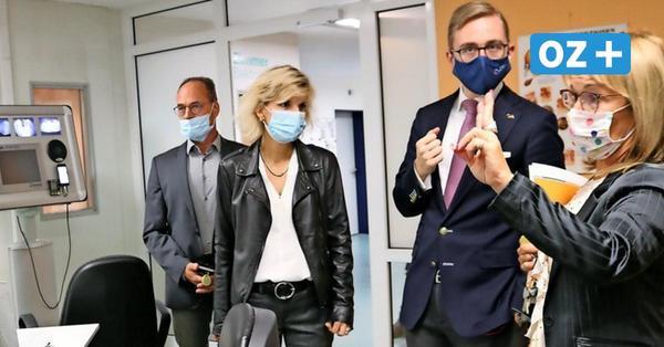 Drogenbeauftragte der Bundesregierung besucht Reha-Klinik auf Usedom