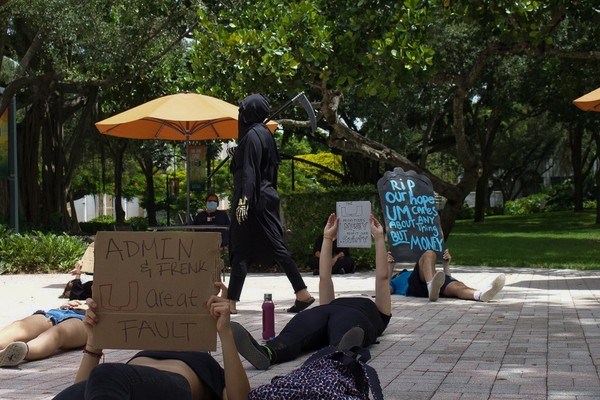 University of Miami Tracked Protesters With Video Surveillance