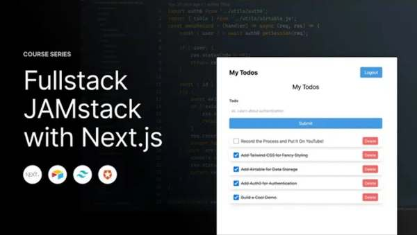 Build an Authenticated JAMstack App with Next.js, Airtable, Tailwind CSS, and Auth0