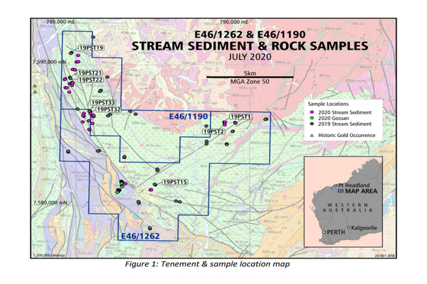 Thor Mining PLC (THR.ASX.L) FOLLOW UP GOLD SAMPLING AT RAGGED RANGE