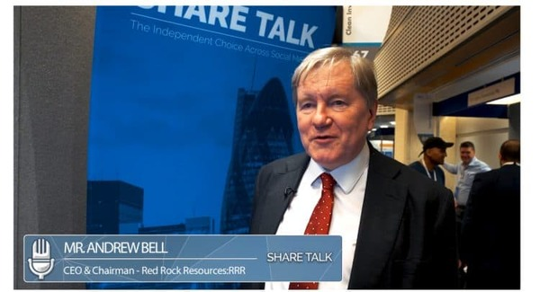 Andrew Bell, Chairman of Red Rock Resources (RRR.L) Interview