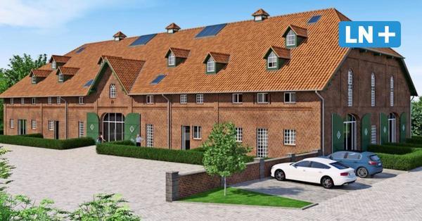 Eutin: Alte Scheunen werden zu Mietwohnungen umgebaut