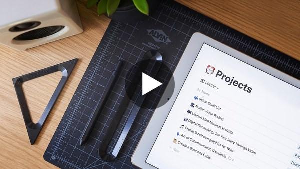 Be Productive & Stay Organized – My Notion Setup Tour