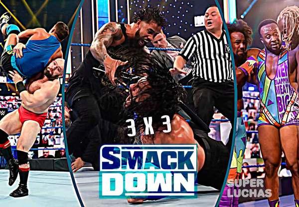 3 x 3: Lo mejor y lo peor de SmackDown (16 de octubre 2020)