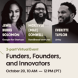 Black Leaders Month: Funders, Founders, and Innovators at Startup Grind Vancouver In Partnership with Google For Startups