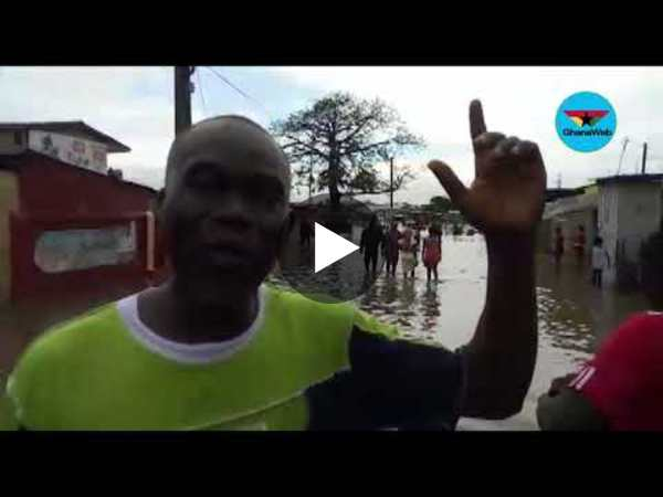 Saturday floods: My people are scattered and helpless - Adabraka Sahara-Odaw Assembly member