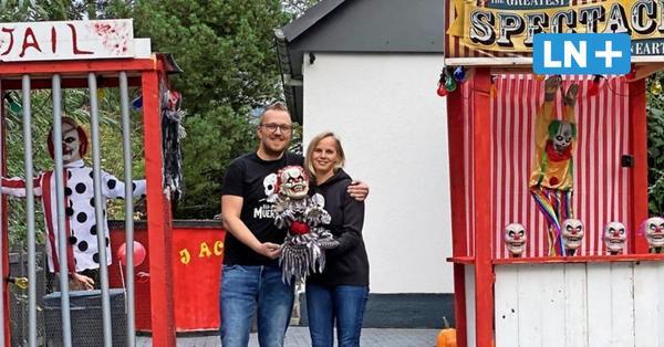 Zum Gruseln schön: Das Halloween-Haus von Badendorf