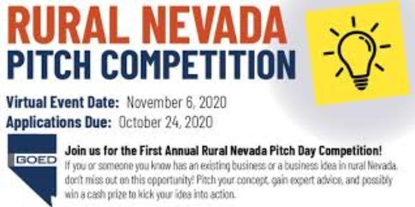 Statewide partnership seeks entrepreneurs, startups for rural Nevada virtual pitch competition   Carson City Nevada News - Carson Now