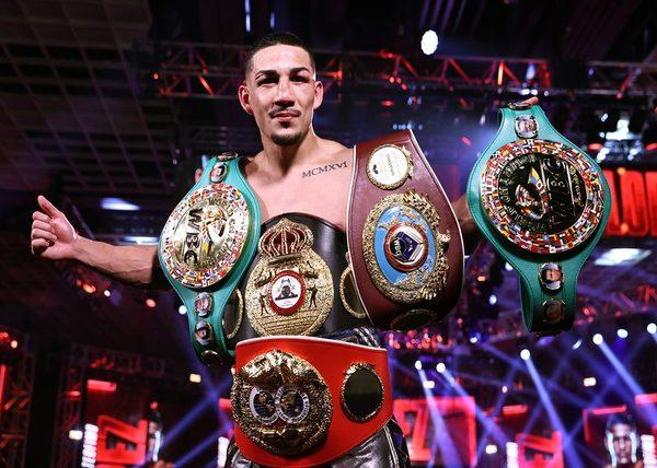 The Honduran lightweight champion
