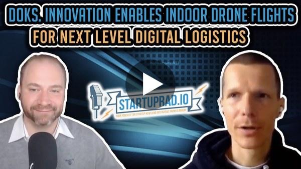 doks. innovation enables indoor drone flights for next level digital logistics