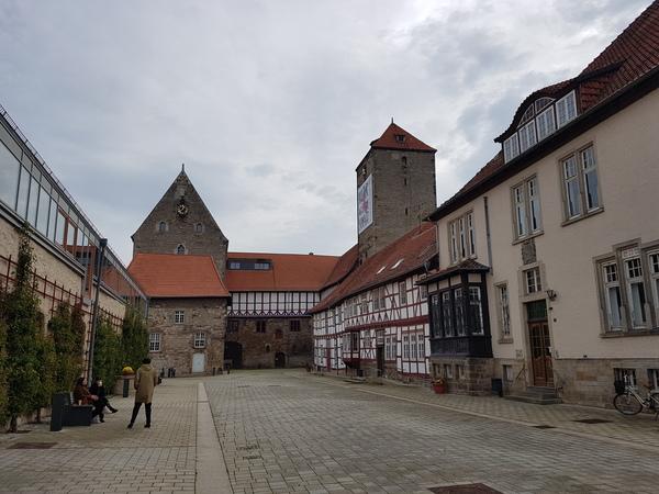 Lohnt eine Stippvisite: Die Domäne Marienburg. (Foto: Bernd Haase)