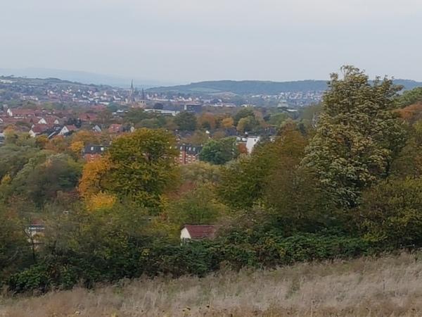 Immer wieder: Eine der vielen Perspektiven auf die Stadt Hildesheim. (Foto: Bernd Haase)