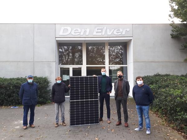 Ypres installe 371 panneaux solaires sur les bâtiments de la ville - Ieper installeert 371 zonnepanelen op stadsgebouwen