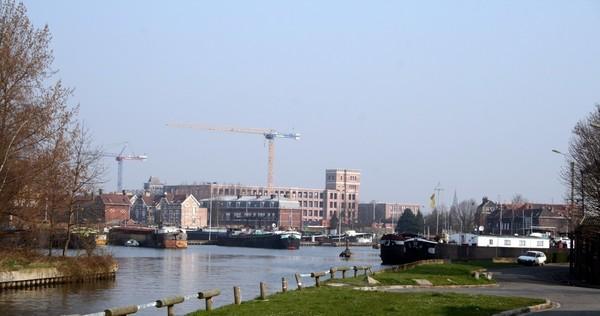 De gros travaux vont être menés à la gare d'eau de Lille - Lomme - Oevers Deûle in Lomme-Lille worden aantrekkelijker