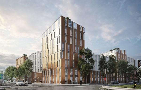 Move Factory : près de 1 500 personnes vont travailler dans cet immeuble à Villeneuve d'Ascq - Nieuwe werkplek voor 1500 personen in Villeneuve d'Ascq