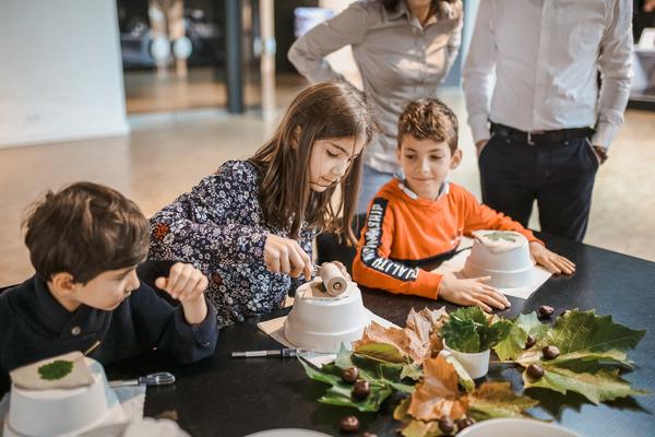 Auch Kinder können bei Workshops kreativ werden. (Foto: Claudia Warneke)