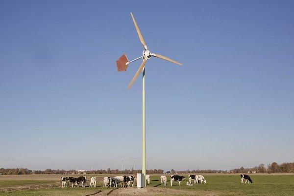 Les premières petites éoliennes de Veurne ont été autorisées - Eerste kleine windturbines in Veurne zijn vergund -