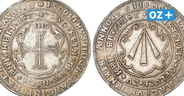 Stralsunds teuerste Münze: Reichstaler von 1611 für 110000Euro versteigert