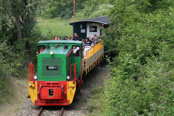 Der Meuselwitzer Verein Kohlebahnen lädt auch im Herbst zu Ausfahrten in der Bergbaubahn ein.  Foto: Mario Jahn