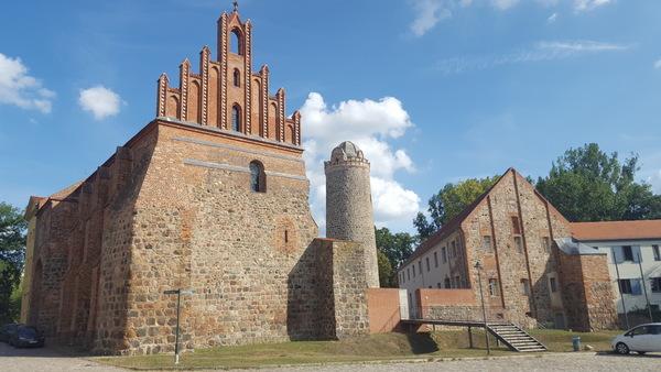 Die Burg in Ziesar. Foto: Frank Bürstenbinder