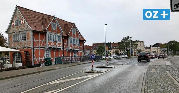 Deshalb wird die Straße Am Hafen in Wismar für zwei Tage halbseitig gesperrt