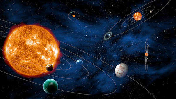 In Dahlewitz geht es am Sonnabend um Planeten. Foto: Esa/dpa