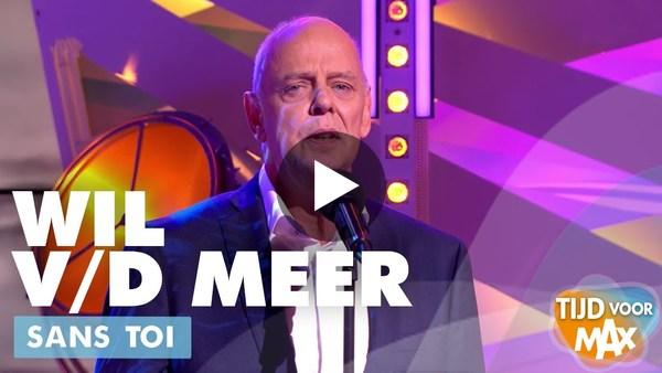 ROELOFARENDSVEEN - Wil van der Meer treed op met het nummer Sans Toi bij Tijd voor Max (video)