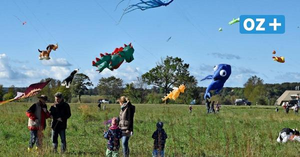 Windiges Hobby: Hier kann man in Mecklenburg Drachen steigen lassen