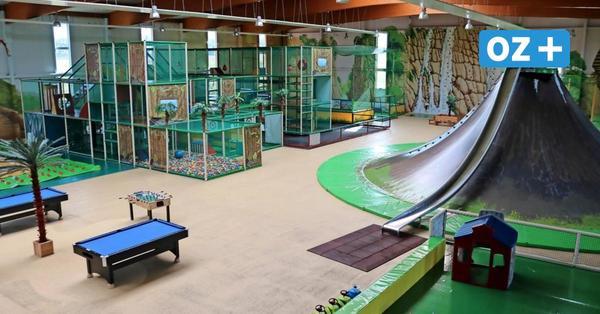 Wismar: Viel Platz für nur wenige Besucher auf Indoorspielplatz