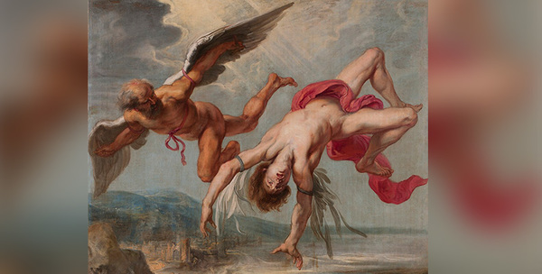 Jacob Peter Gowy's The Flight of Icarus (1635–1637)