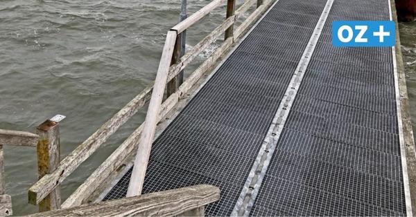 Nach Sturmschäden: Sassnitzer Windpromenade und Göhrener Seebrücke bleiben gesperrt