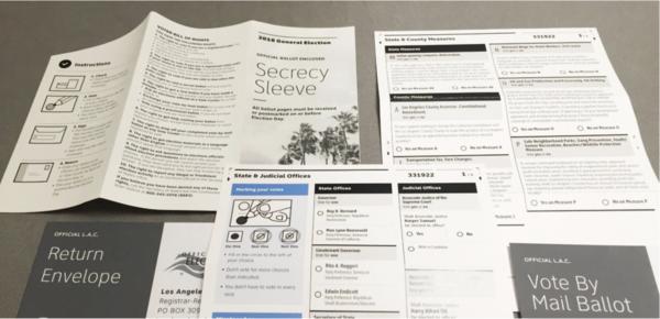 Il progetto di Ideo per il voto via posta nella Contea di Los Angeles