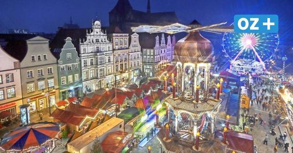 Glühwein, Maske, Zäune: Wie Rostocks Weihnachtsmarkt trotz steigender Corona-Zahlen stattfinden soll