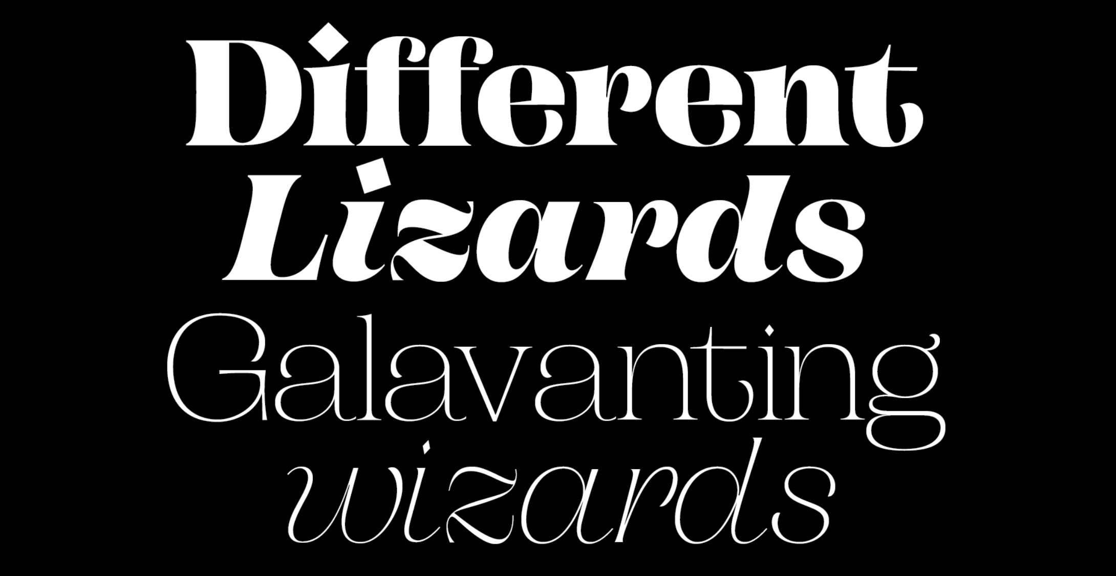 Two new weights (Thin and Black) have been added to Campaign Serif
