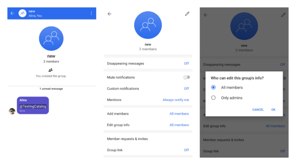 Signal Messenger got new groups with mentions, group admins and more