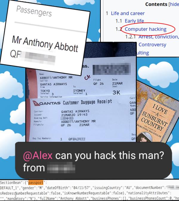 Deze hacker ontfutselde het paspoortnummer en andere gegevens van Tony Abbott, de minister-president van Australië.
