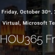📅 Virtual HOU365 Friday – SPS Events, Friday, 30 October, 2020