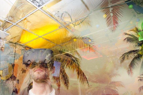 Virtuelle Realität erleben bei der fsociety in Leipzig. Foto: fsociety
