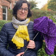 The Hillhead woman turning old umbrellas into tote bags