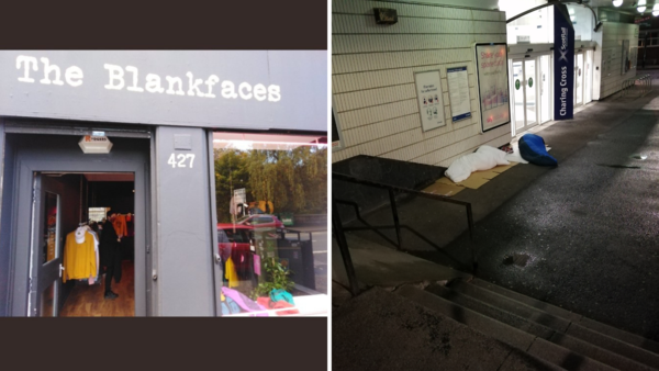 Donations of sleeping bags and clothing at The Blankfaces will be used this winter.