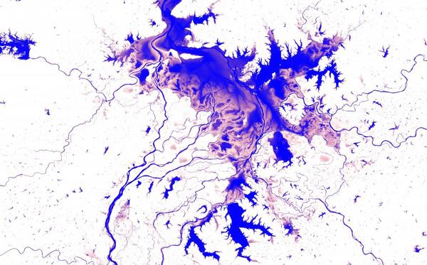First of its kind surface water Atlas brings together 35 years of satellite data
