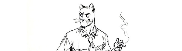 Juanjo Guarnido - Blacksad Original Comic Art