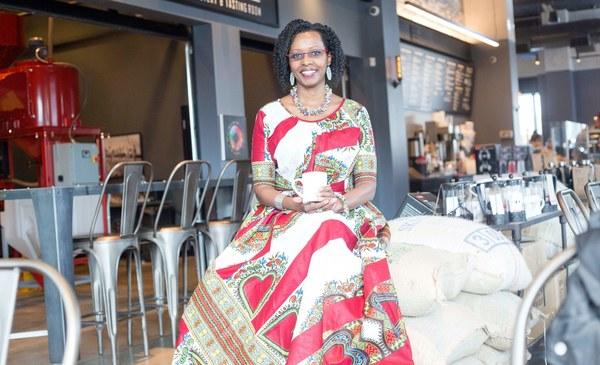 Michelle Johnson Interviews Jeanine Niyonzima-Aroian On Seed To Cup