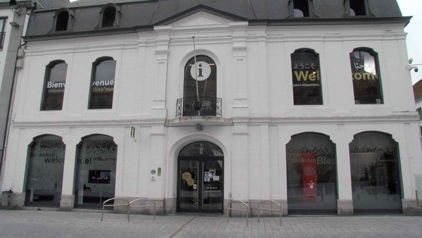 Tournai : un jeu de piste pas comme les autres - Expo stelt vragen over hedendaagse architectuur