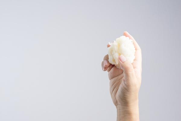 Auch eine Frage zum Reis? Heben Sie Ihre Hand