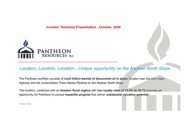 Pantheon Resources Plc (PANR.L) Investor Presentation and Q&A Session