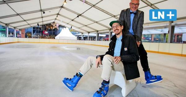 Eisbahn am Citti-Park ab Sonnabend wieder geöffnet