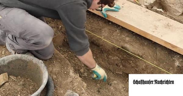 Das Barfüsser-Kloster wird ausgegraben