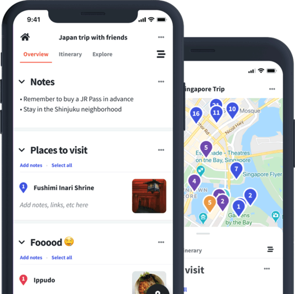 Wanderlog to genialna aplikacji do planowania pobytu turystycznego